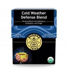 Buddha Teas Cold Weather Defense Tea Blend x 18 Tea Bags