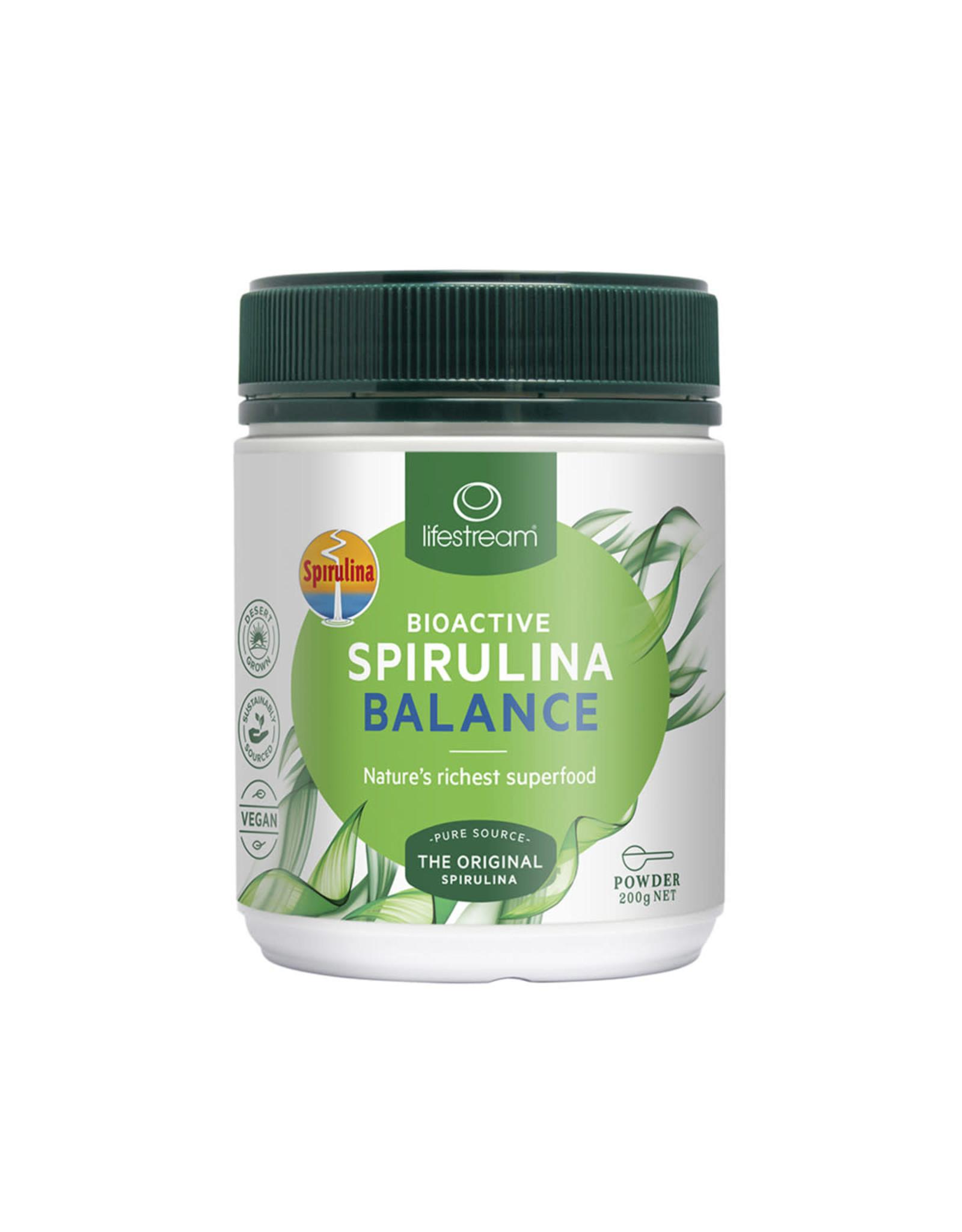 Lifestream Bioactive Spirulina Balance
