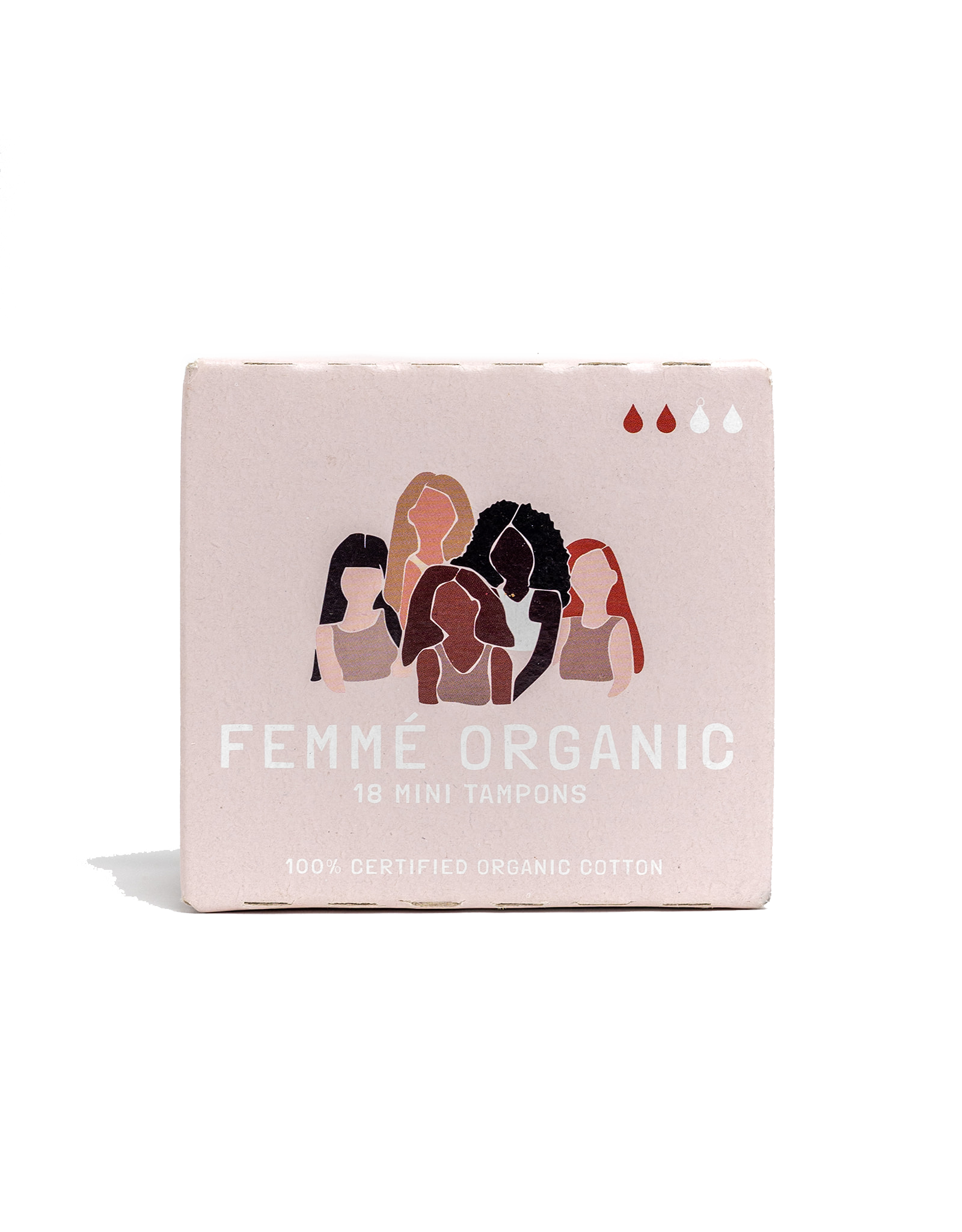 Femme Organic Organic Cotton Tampons - Mini (18pc)