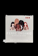 Femme Organic Organic Cotton Pads -  Regular (10pc)