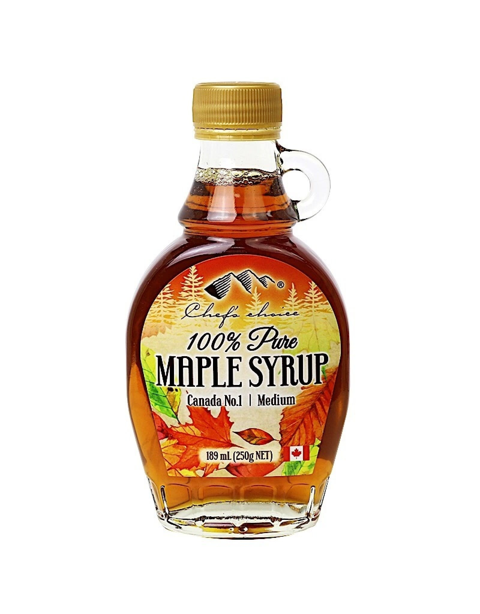 Chef's Choice 100% Pure Organic Maple Syrup 189ml