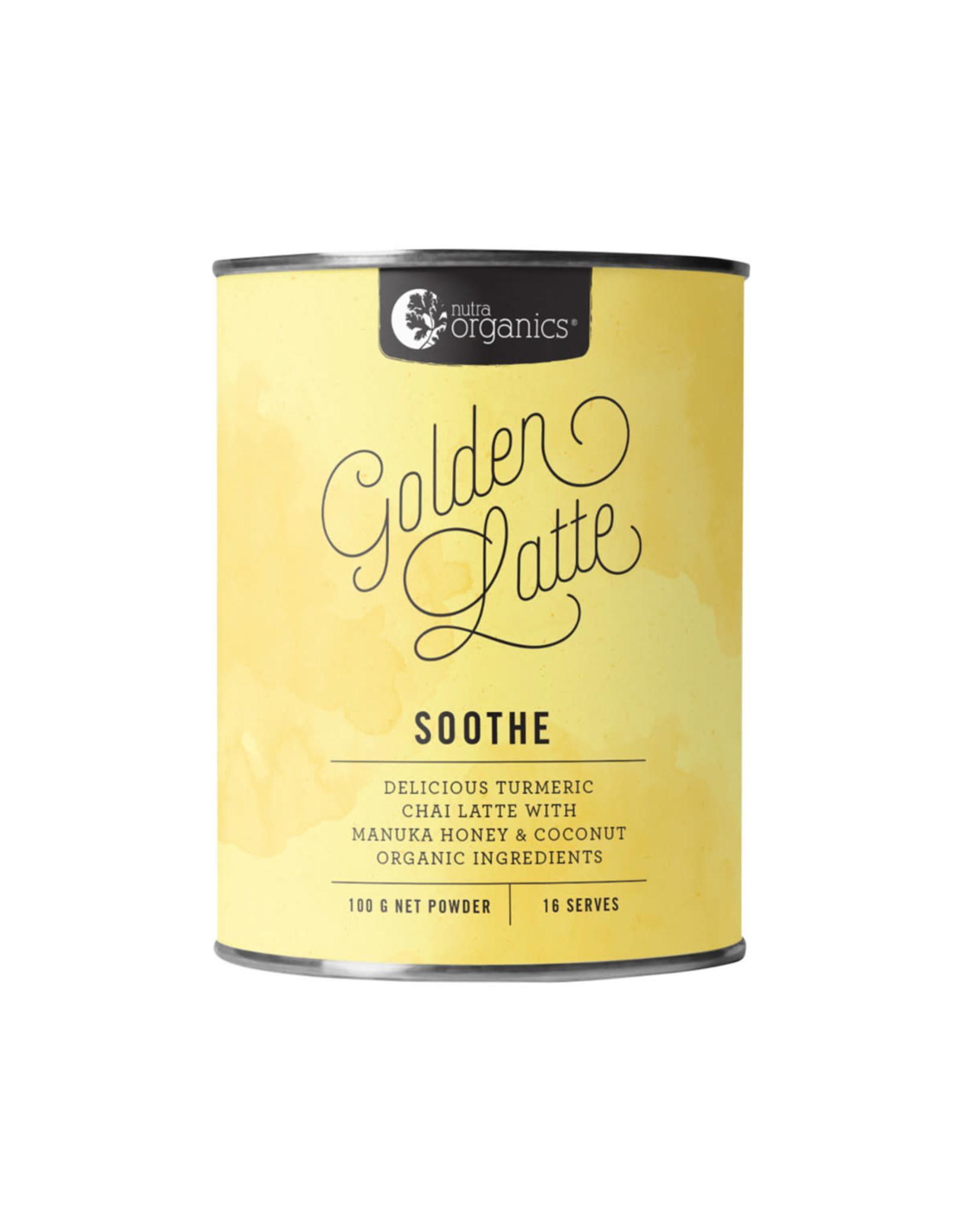 NutraOrganics Golden Latte 100g