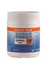 Martin & Pleasance Schuessler Tissue Salts Comb 12 (General Tonic) 250t