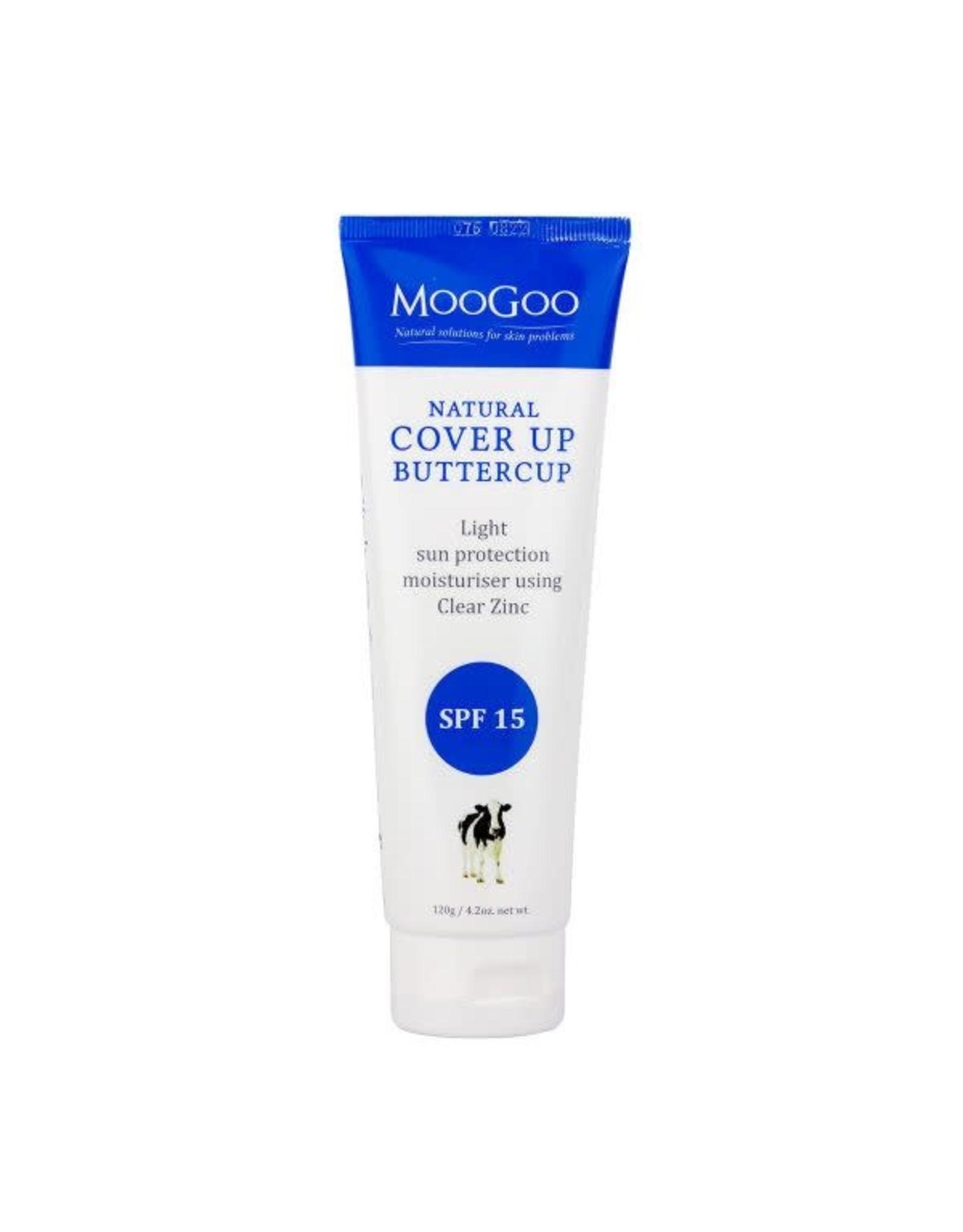 Moogoo Cover Up Buttercup SPF 15 Natural Moisturiser 120g