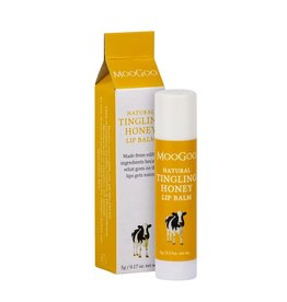 Moogoo Edible Lip Balm 5g – Tingling Honey