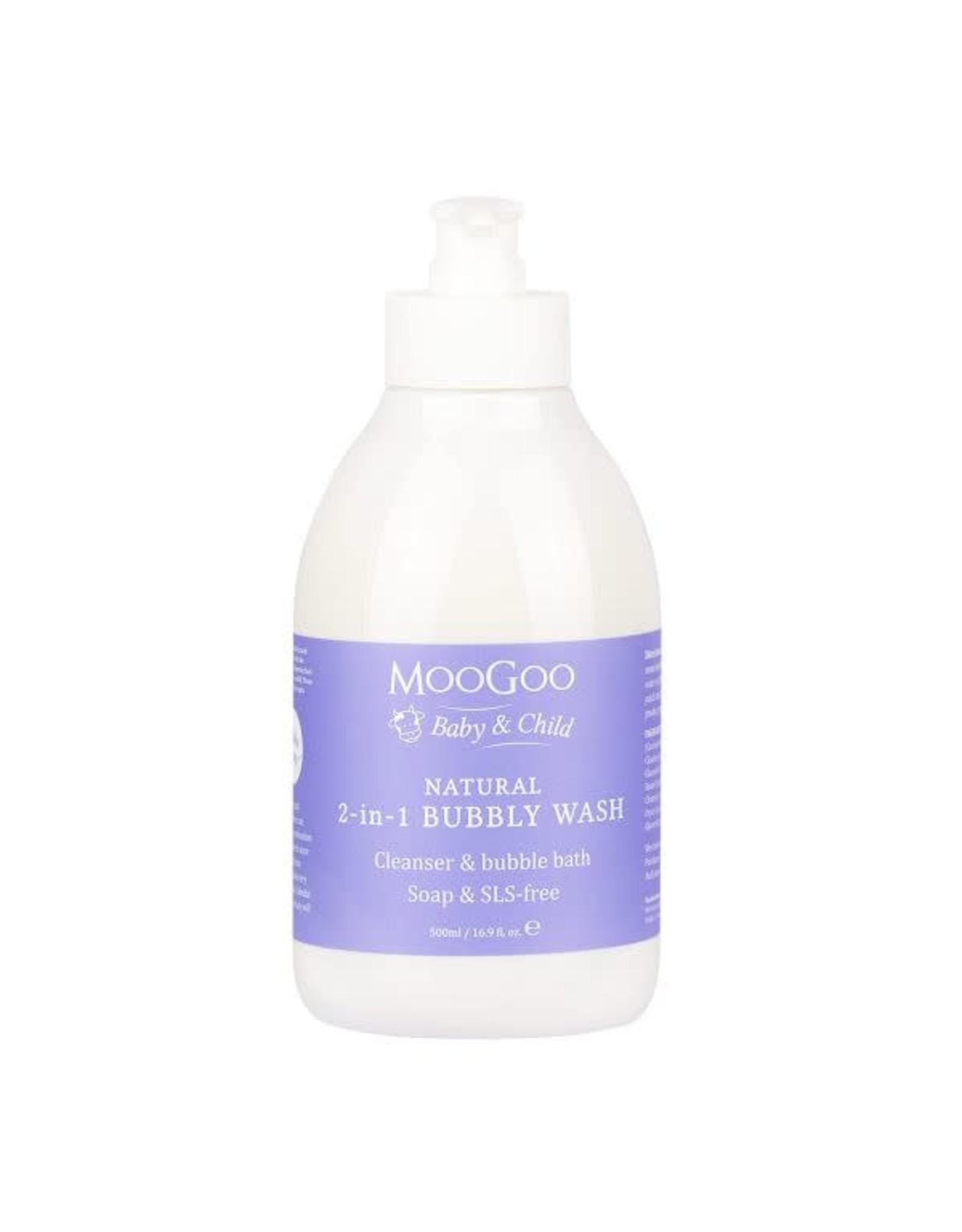 Moogoo 2-in-1 Bubbly Wash 500ml