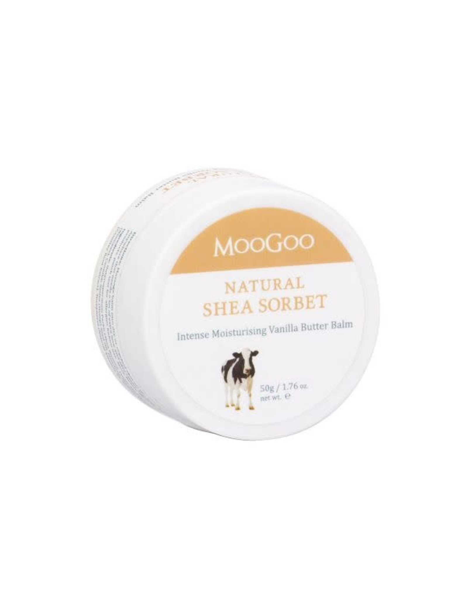 Moogoo Shea Sorbet Vanilla Butter Balm 50g
