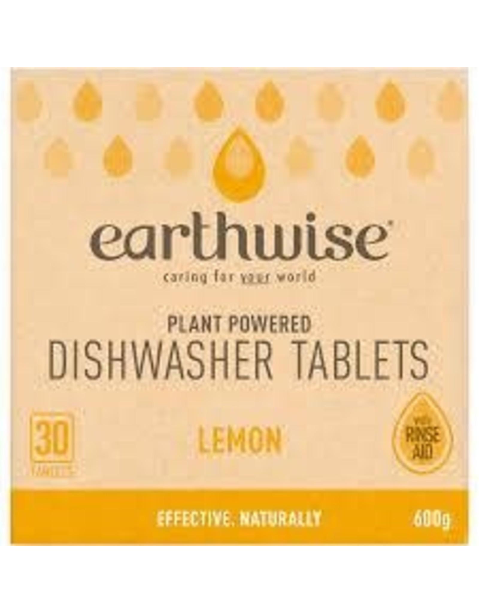 Earthwise Dishwasher Tablets Lemon