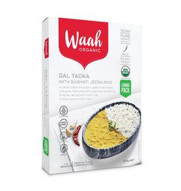 Waah Organics Dal Tadka with Basmati Jeera Rice 375g
