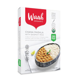 Waah Organics Chana Masala with Basmati Rice 375g