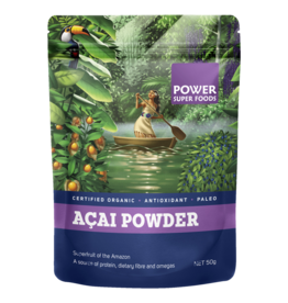 Power Super Foods Acai Powder Cert Organic 50g