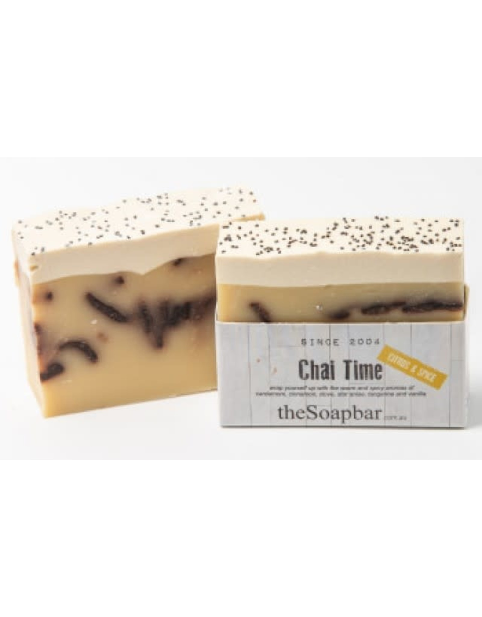 The Soap Bar Chai Time Soap