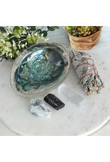 SoulSista Cleansing Kit with Sage, Abalone and Crystals