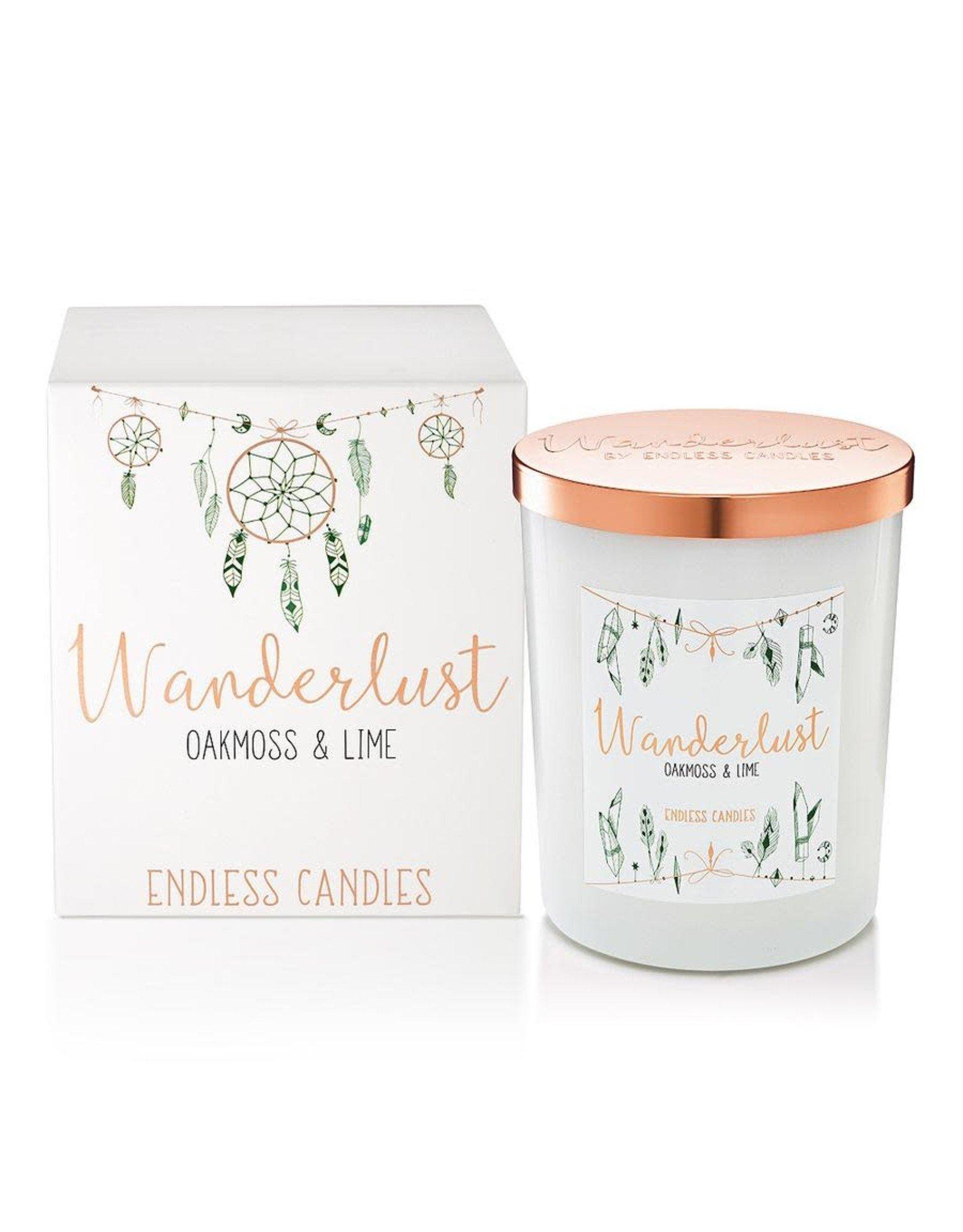 Mary Grace Oakmoss and Lime Jar Candle - 500g