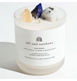 Salt & Rainbows New Moon Sunshine & Happiness Candle