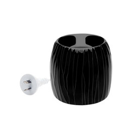 Aromamatic Aromamatic Wax Melt Electric Warmer Black Textured