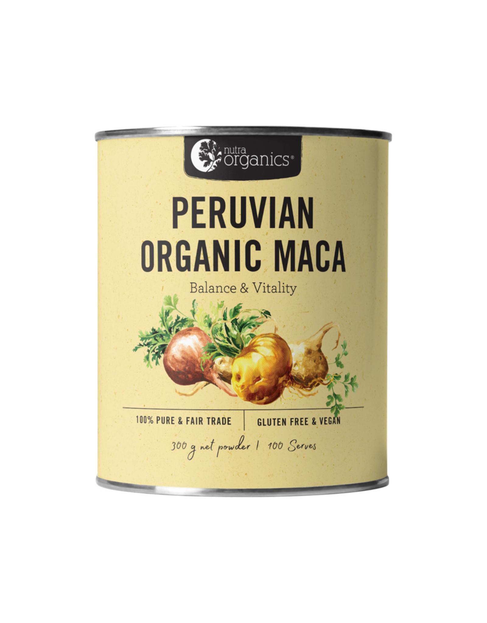 NutraOrganics Organic Peruvian Maca Powder 300g