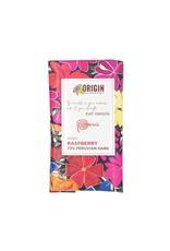 Origin Chocolate Raspberry Vegan Chocolate 72% Peruvian Cacao 100gm