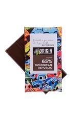 Origin Chocolate 65% Dark Peruvian Cacao Vegan Chocolate 100gm