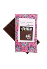 Origin Chocolate 85% Dark Peruvian Cacao Vegan Chocolate - 100gm