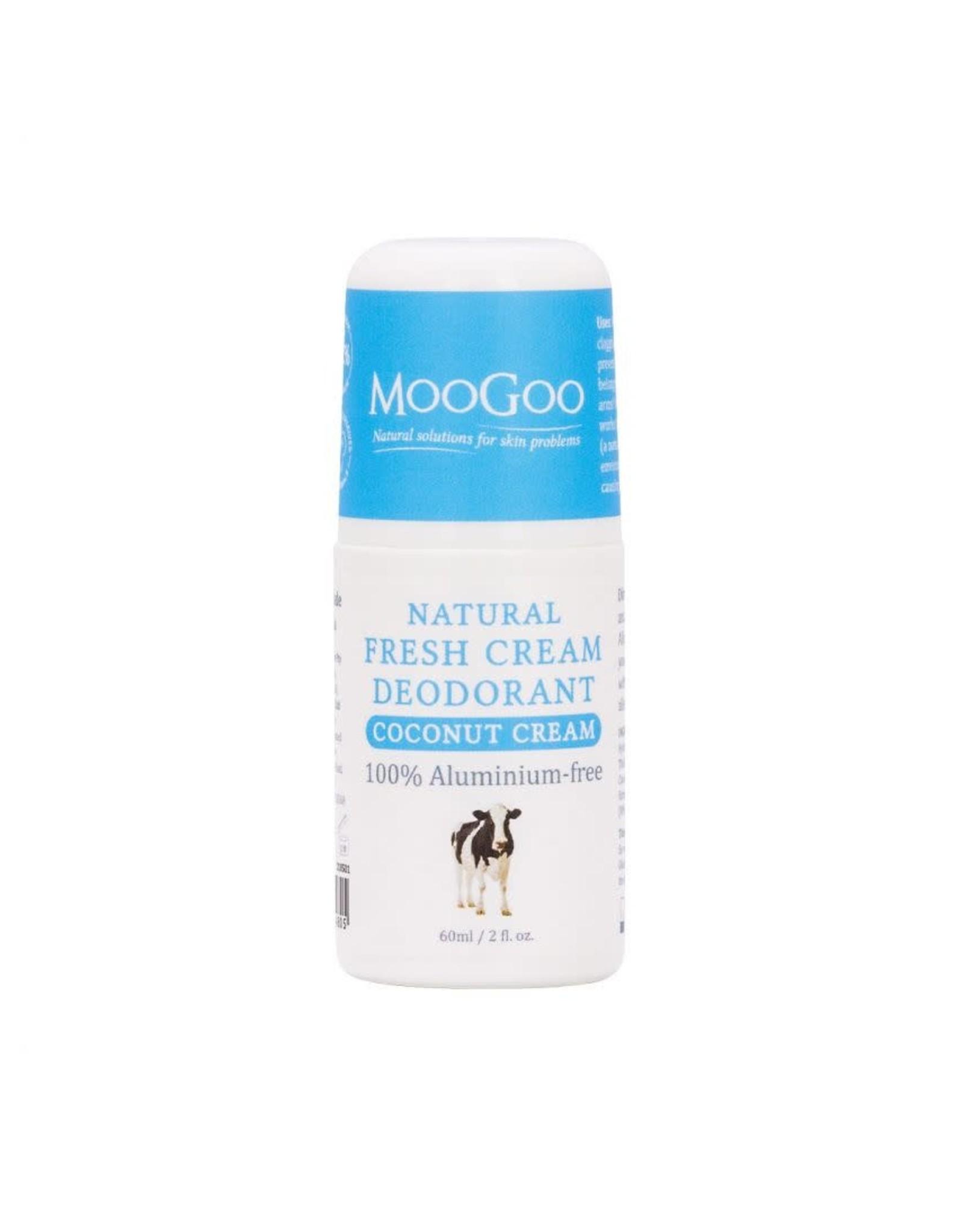 Moogoo Fresh Cream Deodorant - Coconut Cream 60ml