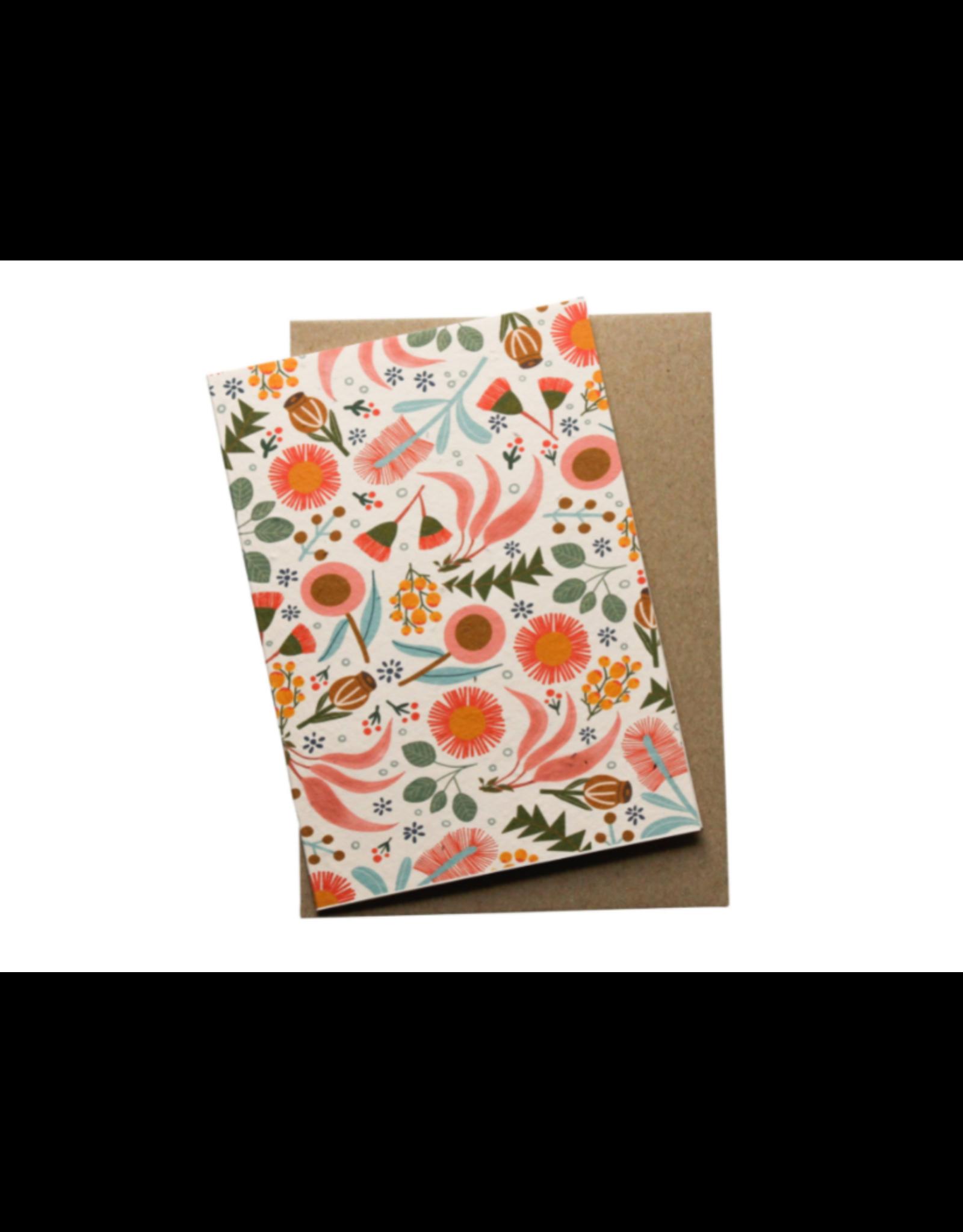 Hello Petal Blooming Plantable Xmas Cards
