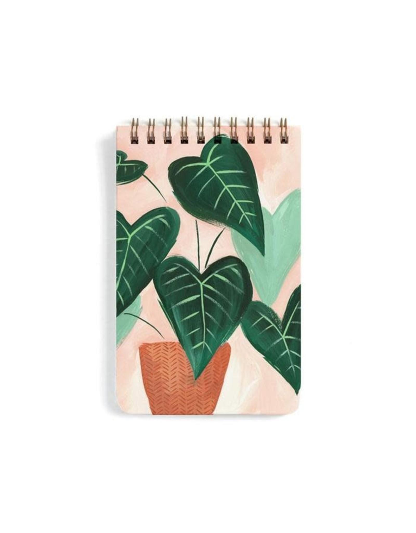 Green Leaf Notebook - Large