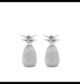 Pineapple Shot Glasses - Silver