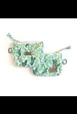 Mint Meadow Zipper Wallet