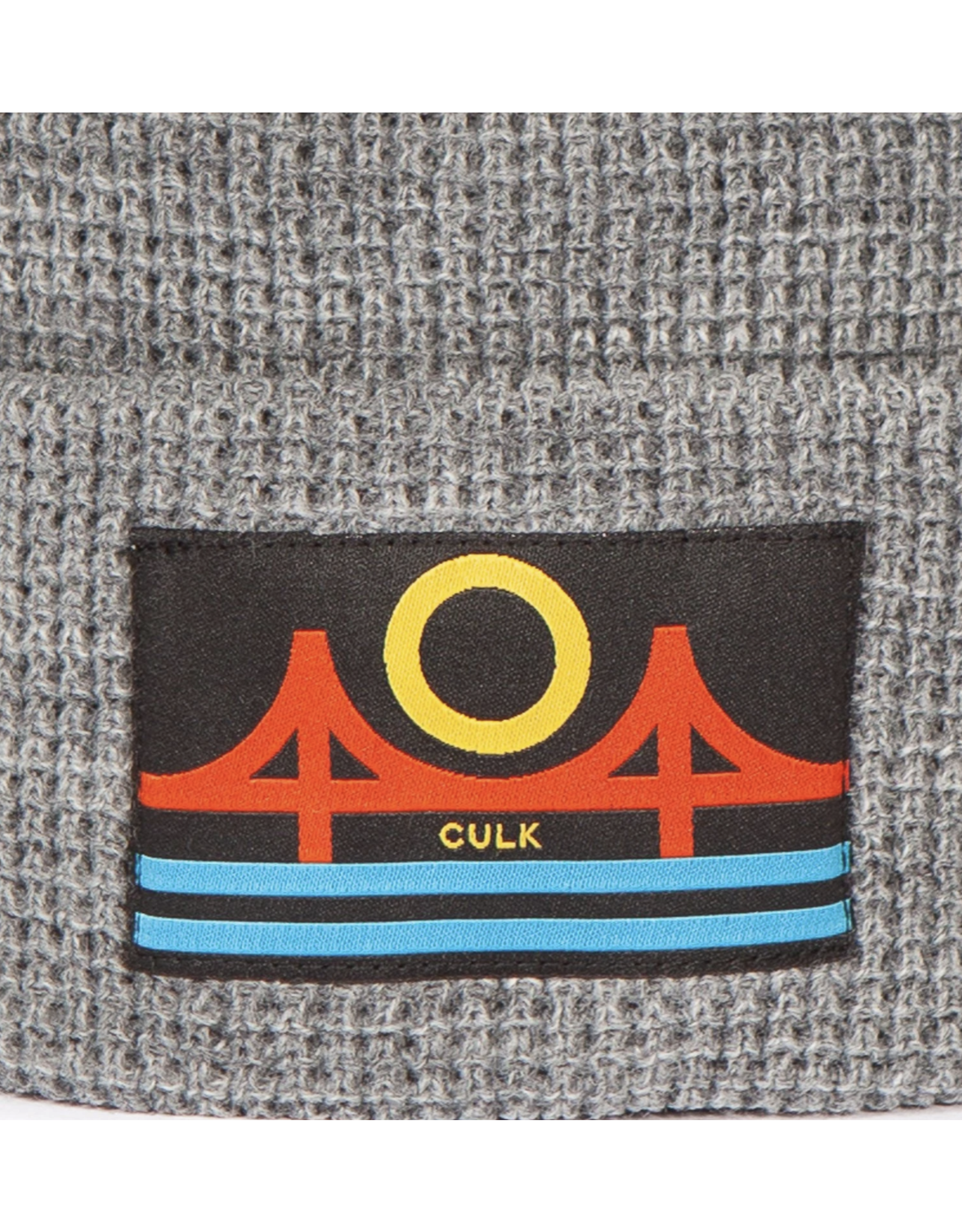 Culk Minimal Bridge Beanie - Grey