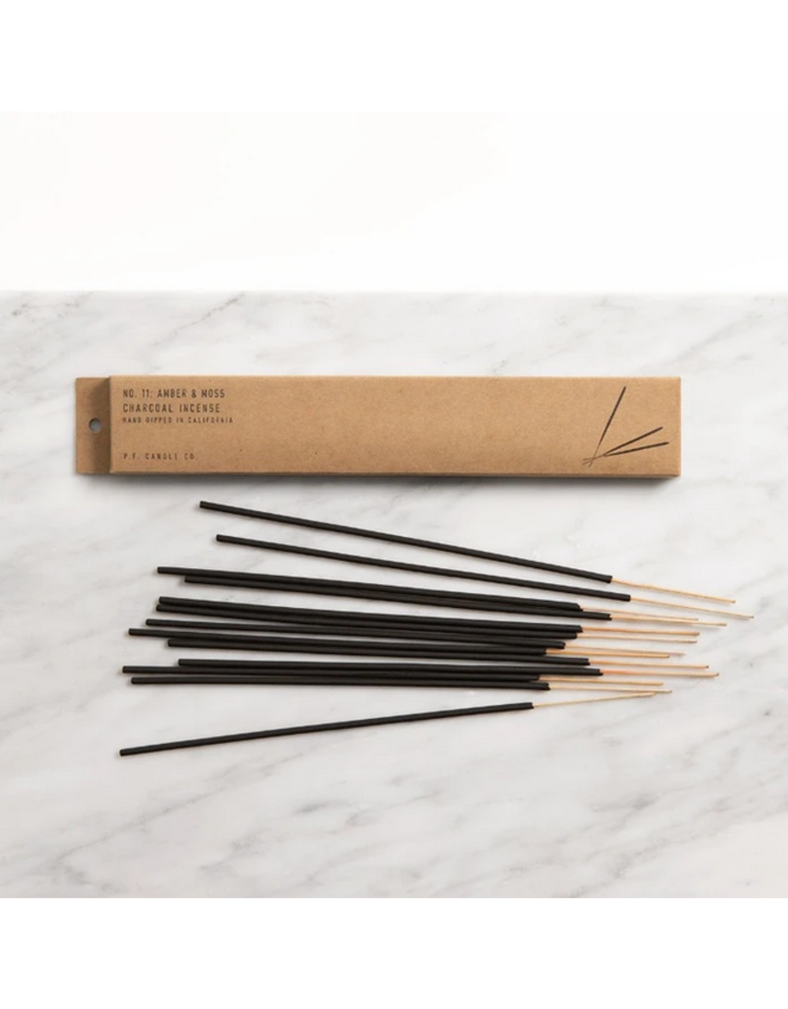 Amber & Moss Incense - Pack of 15