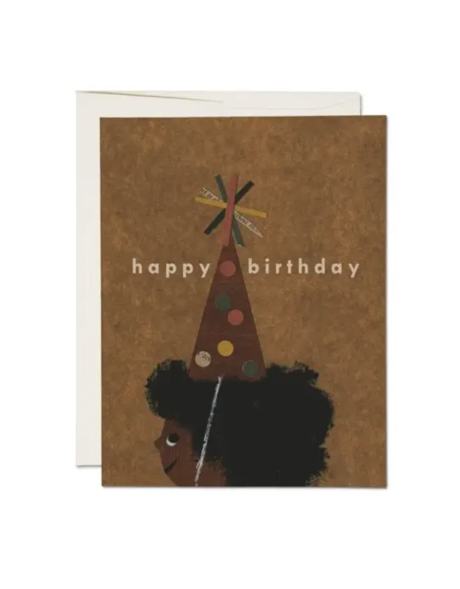 Afro Birthday  Card