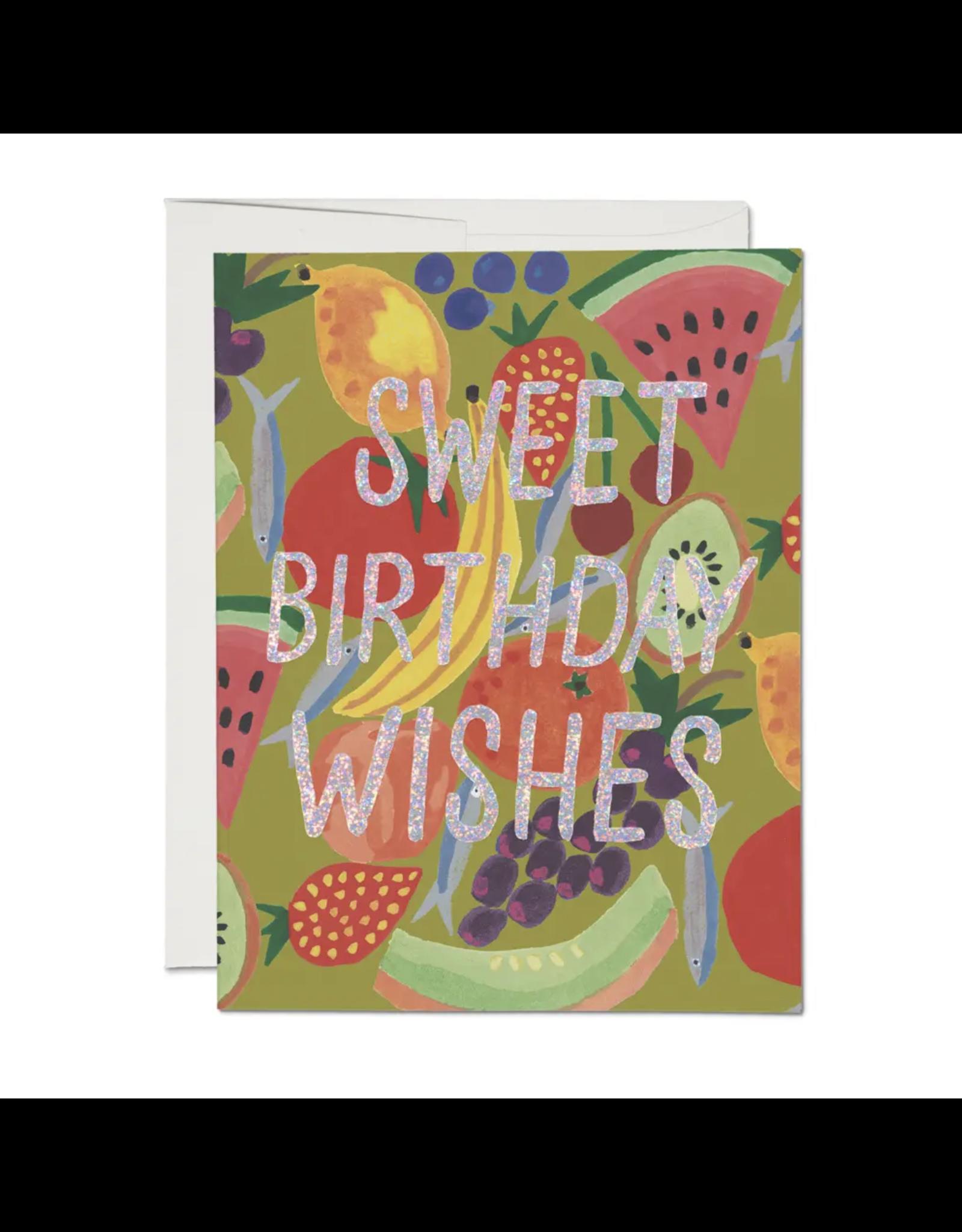 Fruity Birthday Card