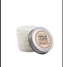 White Dandelion & Clover Jar 3oz