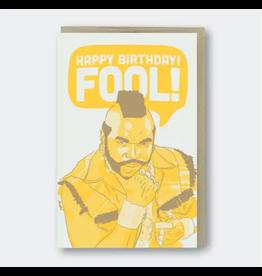 Pike Street Press Happy Birthday Fool
