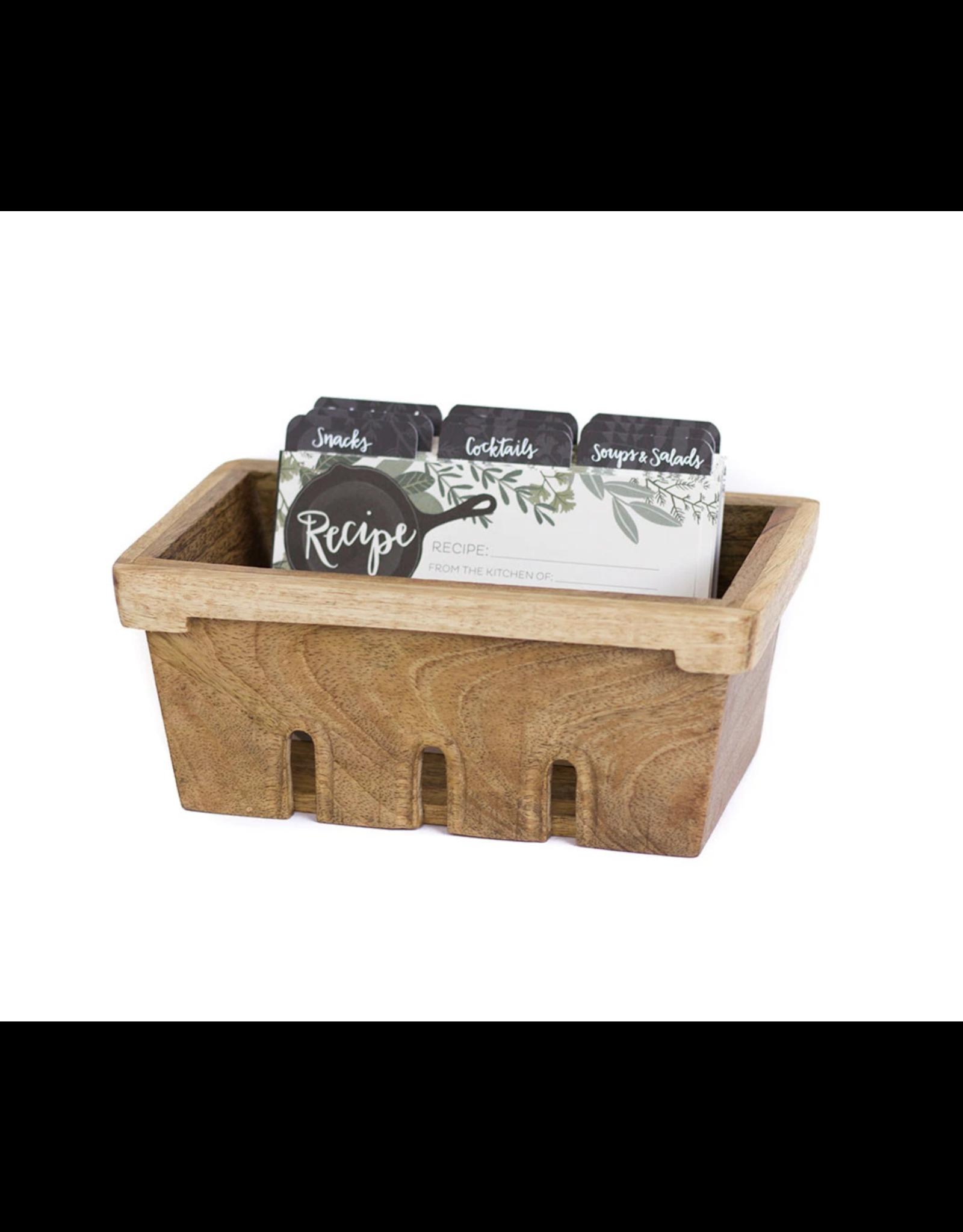 Berry Basket Recipe Box