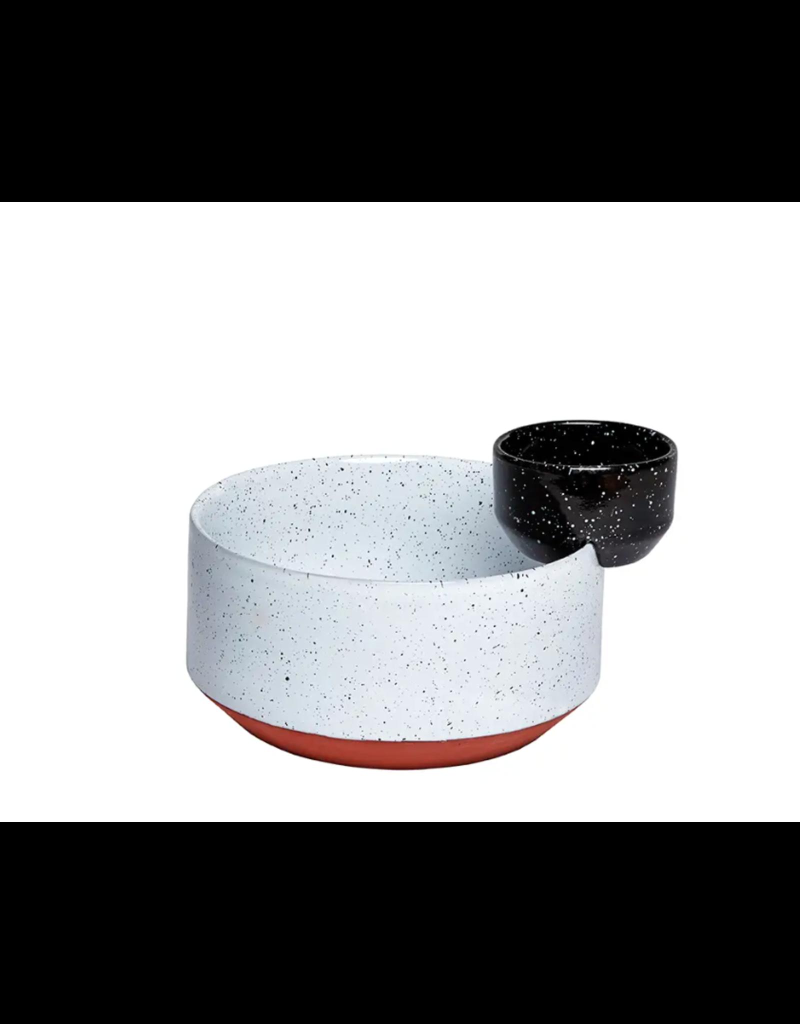 Doiy Eclipse Chip + Dip Serving Bowl