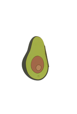 Doiy Oversized Avocado Notebook