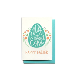 Hennel Paper Co. You're a Good Egg Easter Card