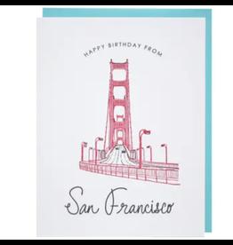 San Francisco Birthday Card