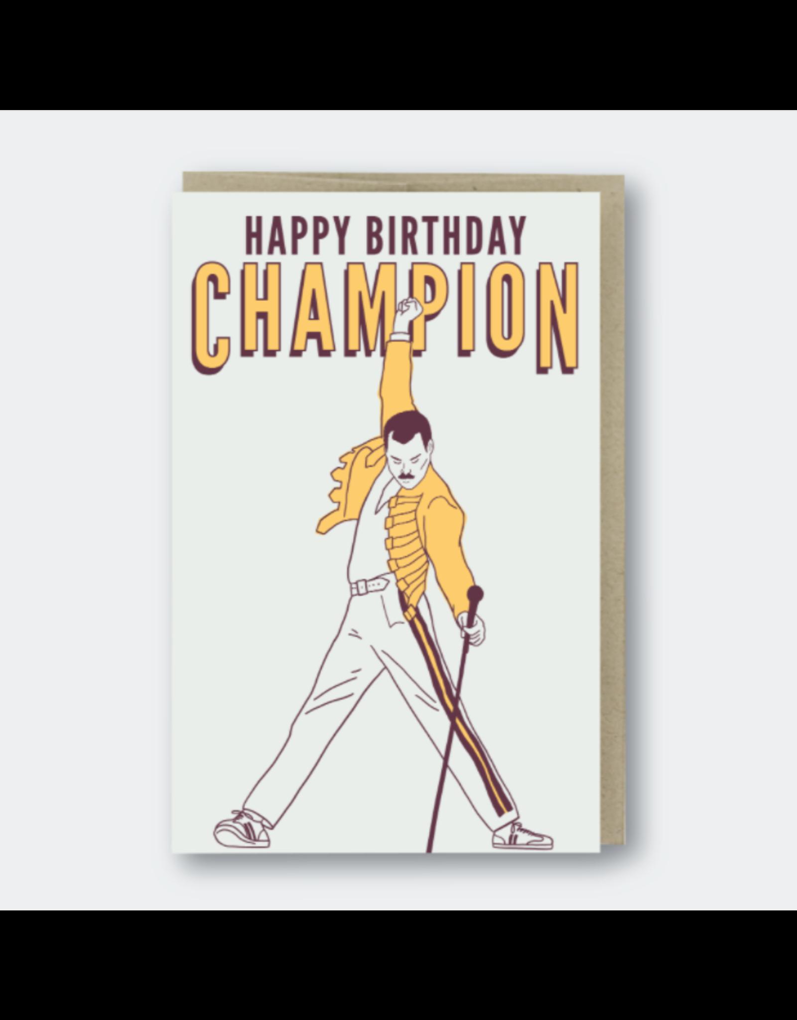Pike Street Press Happy Birthday Champion