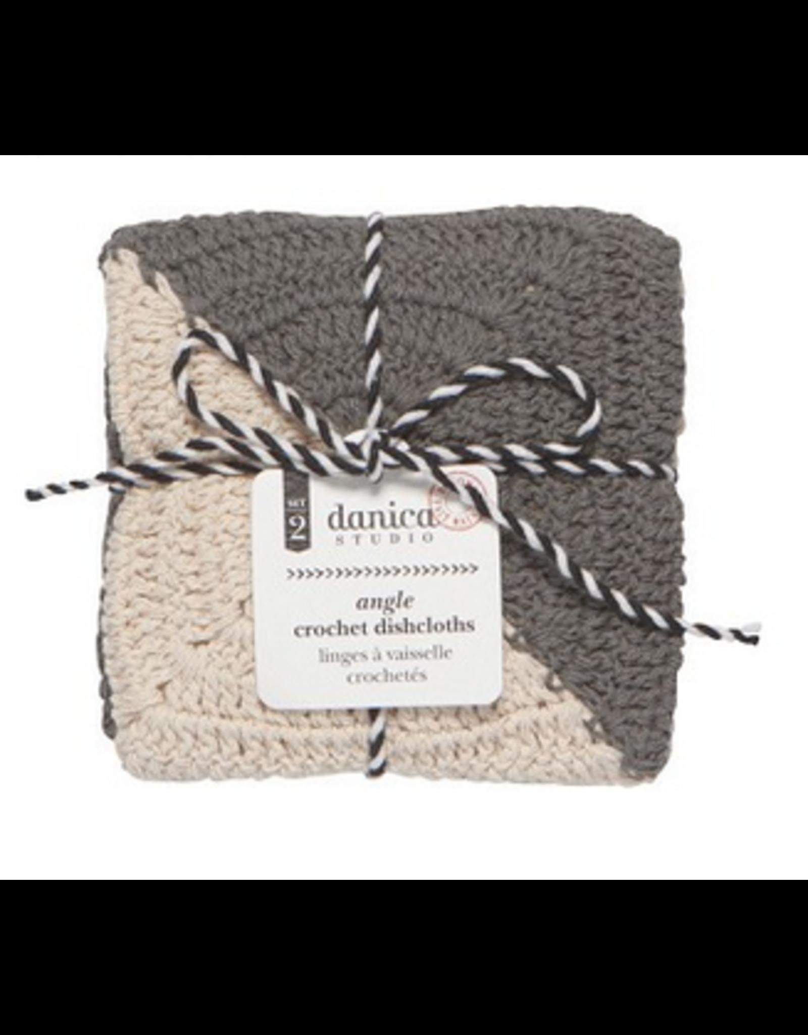 Crochet Dishtowels - Granite