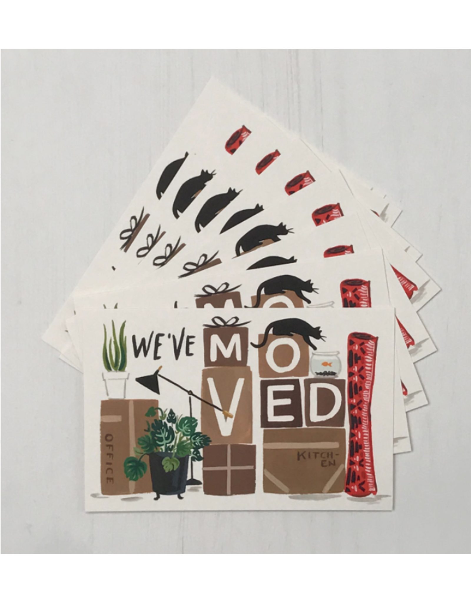New Home Post Card Set