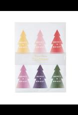 Glitter Ombre Tree Sticker Sheets