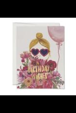 Heart Shaped Glasses Card