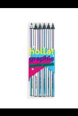 Holla! Graphic Graphite Pencils