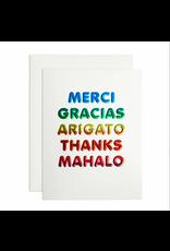 Thanks Languages Card