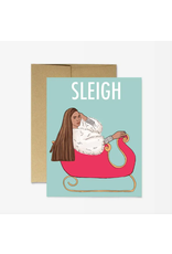 Beyonce Sleigh Card