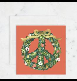 Peace Wreath Card