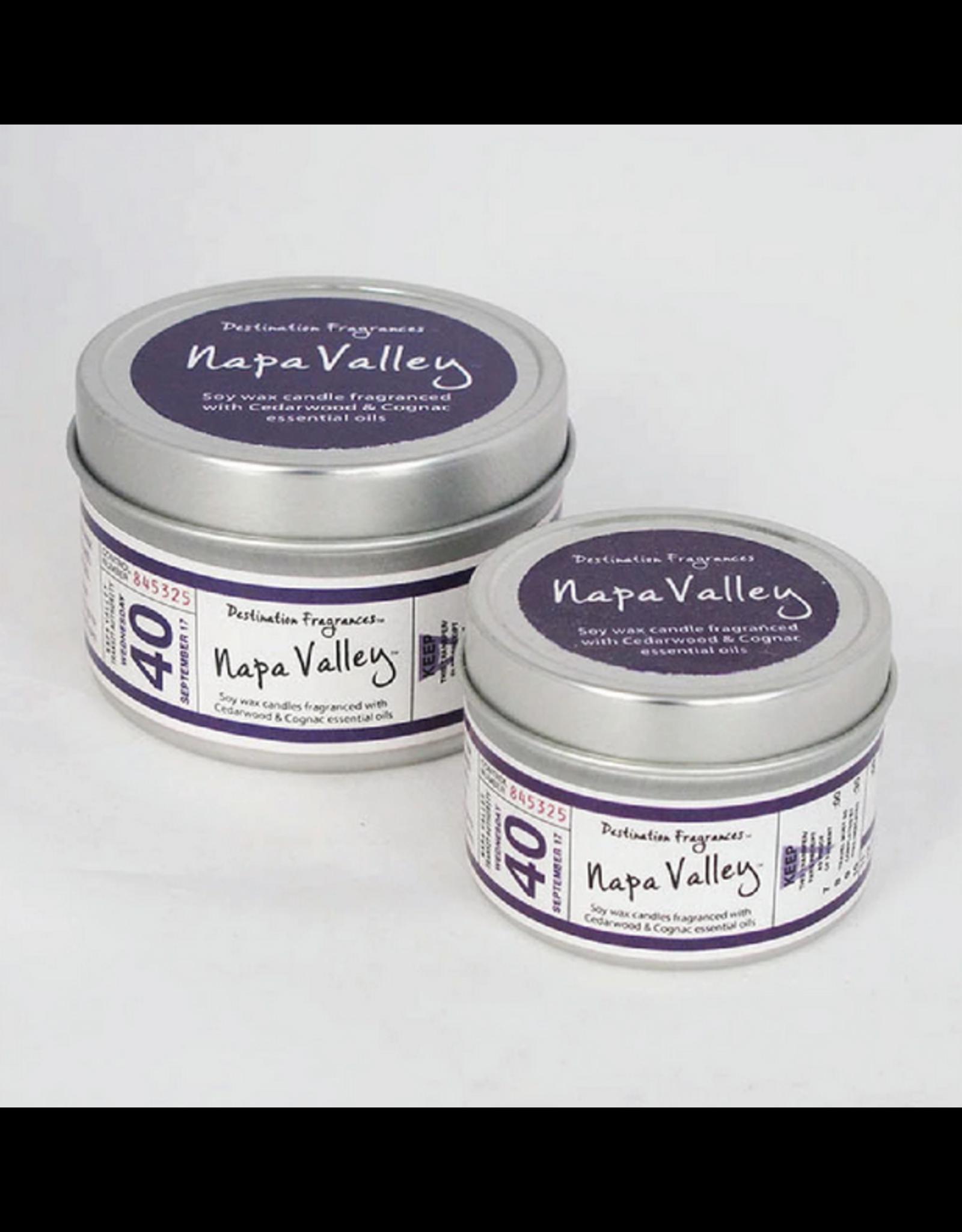 Destination Fragrances Napa Valley Candle - 4oz Tin